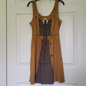 NWT Doctor Who 10th Doctor Cosplay A-line Dress